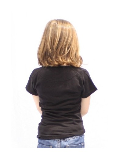 T-SHIRT LITTLE LOLLIPOP NOIR