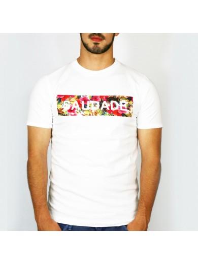 T-Shirt Saudade Flores Homem