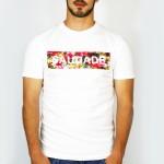 T-Shirt SaudadeFleuri Homme