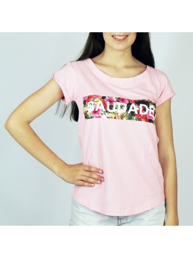 T-Shirt Saudade Flowers