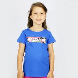 T-SHIRT KID SAUDADE FLORES