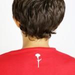 T-Shirt Kid Saudade Red