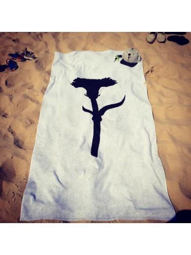 Toalha de praia 100% algodão