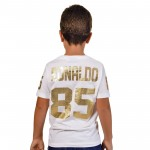T-Shirt Ronaldo 85 Gold Kid