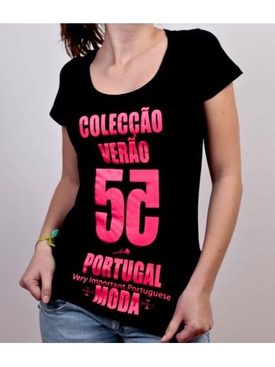 T-SHIRT MODA VERÃO