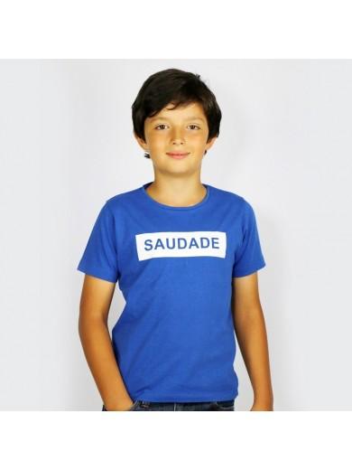 T-Shirt Kid Saudade Rouge