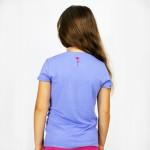T-Shirt Kid Saudade Flores Azul