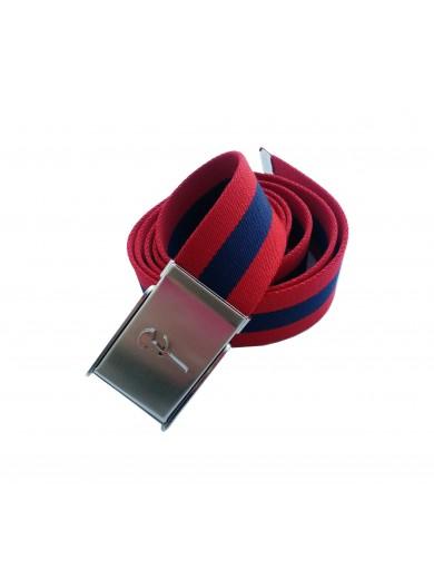 Cinto de tecido Vermelho Marinho