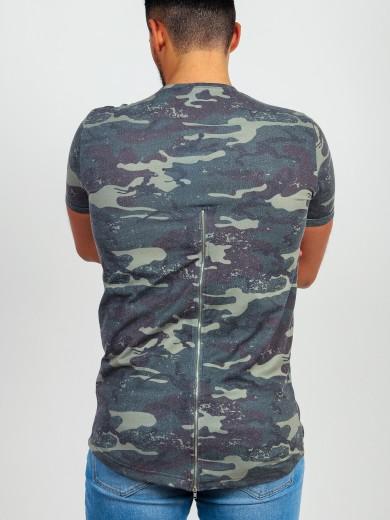 T-Shirt Camuflagem