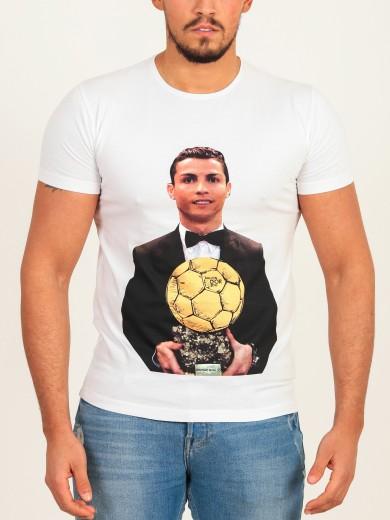 T-shirt Bola de ouro