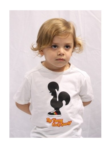 T-SHIRT YOUNG GALO BLANC