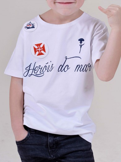 T-SHIRT HERÓIS DO MAR KID