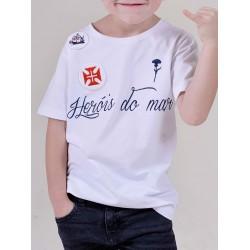 T-SHIRT HERÓIS DO MAR KID