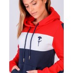 SWEAT CAPUZ TRICOLOR