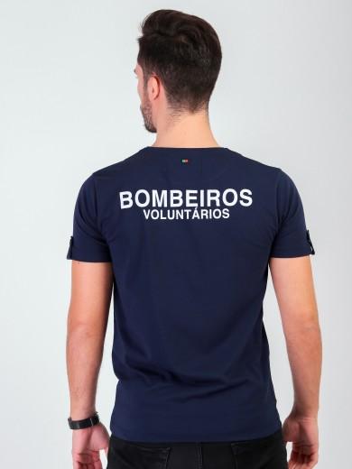 """T-SHIRT BOMBEIROS """"REVIVER"""""""