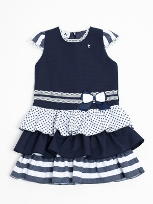 Bow child dress