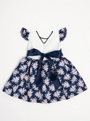 Vestido criança Flor