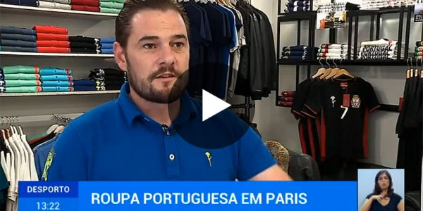 RTP1 entered into our shop and got to know our brand of Portuguese inspiration
